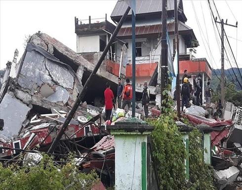 إندونيسيا.. ارتفاع ضحايا الزلزال إلى 56 قتيلا و800 جريح