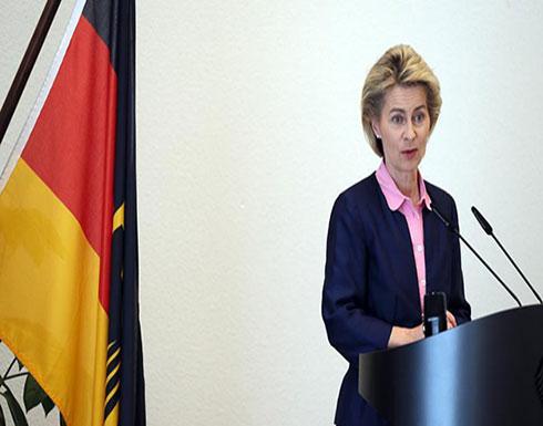 """وزيرة الدفاع الألمانية: قواتنا ستبقى بالعراق """"لفترة طويلة"""""""