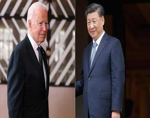 بايدن: نسعى لمنافسة الصين لا الصراع معها