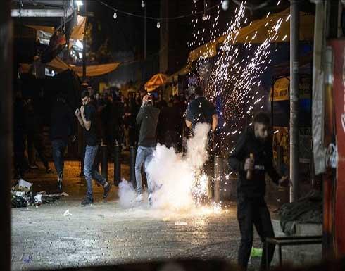 اختناق عشرات الفلسطينيين إثر مواجهات مع جيش إسرائيل بالضفة