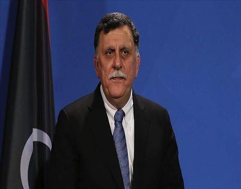 """السراج وسفير ألمانيا يؤكدان أهمية مخرجات مؤتمر """"برلين"""""""
