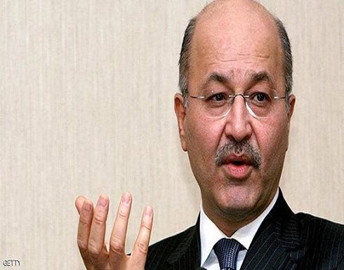 بارزاني: الرئيس العراقي يتعرض لضغوط كبيرة