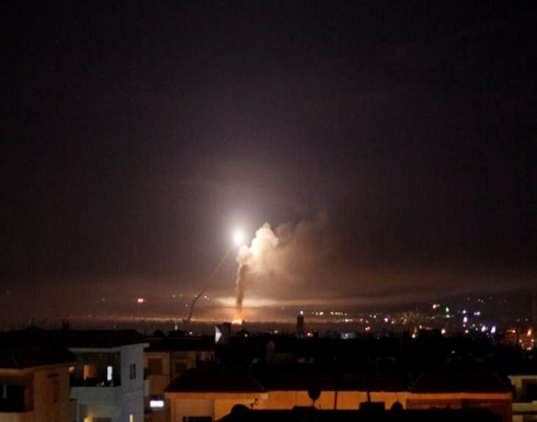 شاهد : الدفاعات الجوية السورية تتصدى لعدوان إسرائيلي يستهدف المنطقة الجنوبية