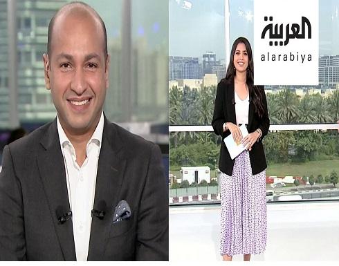 مذيع سعودي في قناة العربية يتغزل بزوجته على الهواء
