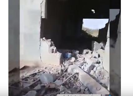 شاهد .. الدمار الذي خلفه طيران التحالف في السوسة شمال سوريا