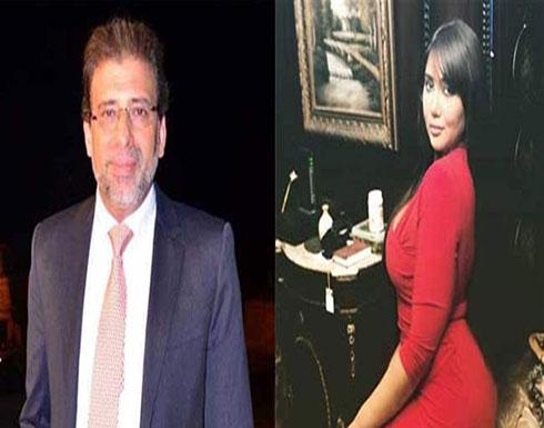 """بالفيديو : بعد سجنها بسبب خالد يوسف.. المذيعة المصرية تعود بكلمة """"نابية""""!"""