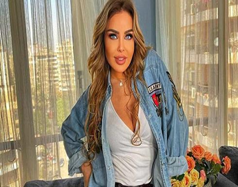 رولا سعد تبهر متابعيها على انستجرام ببنطال جلدي .. صور