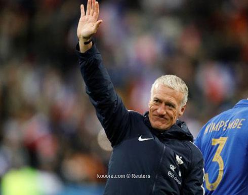 ديشامب: زيدان سيدرب فرنسا في وقت ما