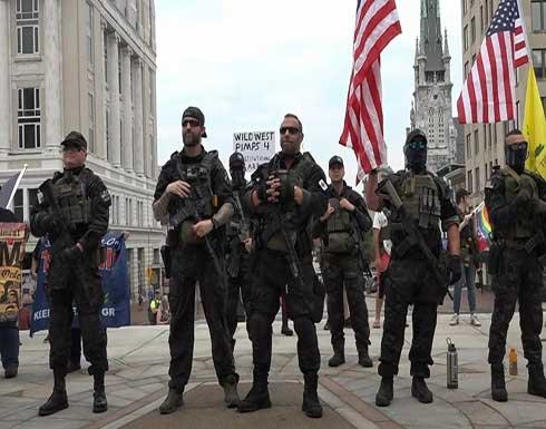 شاهد : مسيرة للدفاع عن حق حمل الأسلحة في ولاية أمريكية