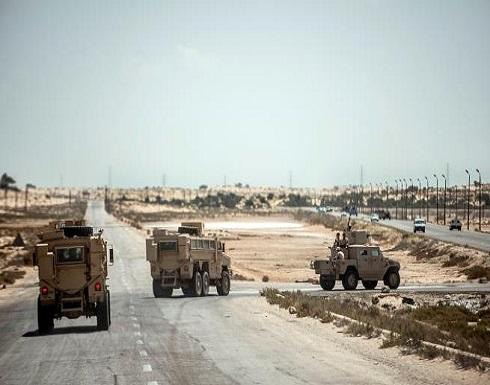 مقتل ضابطين و3 مجندين في الحملة العسكرية وسط سيناء