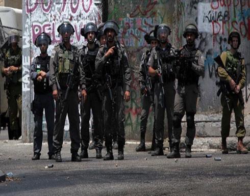 الجيش الإسرائيلي يفرق محتجين فلسطينيين ضد زيارة لنتنياهو