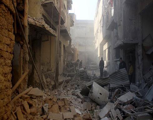 مقتل 24 مدنياً بينهم 10 أطفال بقصف على الغوطة الشرقية