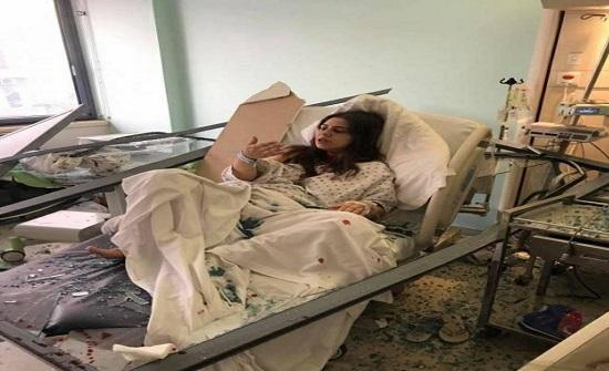 """قصة مؤثرة للبنانية وضعت طفلها الأول قبل ربع ساعة من كارثة بيروت """" صور """""""