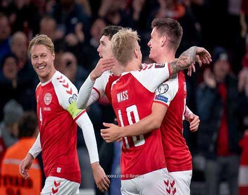الدنمارك تتأهل الى المونديال بفوزها على النمسا بهدف