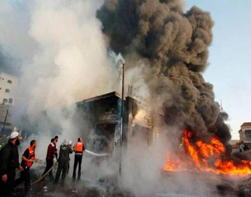 مصادر: مقتل 14 على الأقل في انفجار سيارتين ملغومتين في بغداد