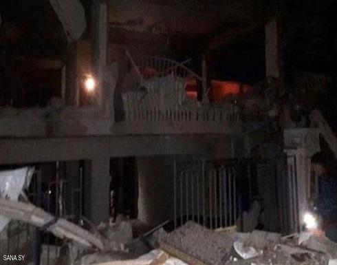 """دمشق: قتلى وجرحى في قصف """"معاد"""" قرب السفارة اللبنانية"""
