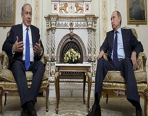 """نتانياهو يتحدث عن """"لقاء إذابة الجليد"""" مع بوتن"""