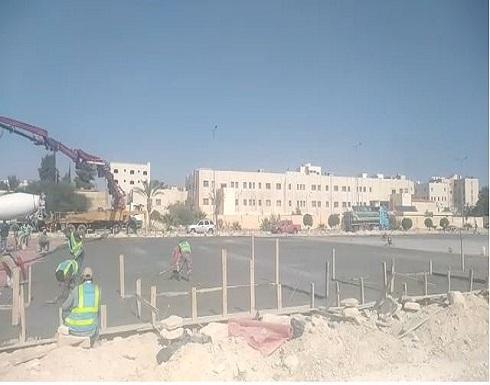 شاهد : البداد كابيتال تقيم مستشفى ميدانيا في الزرقاء لمكافحة كورونا