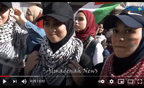 فيديو : شاهد ما يقوله نساء واطفال الاردن عن فلسطين والاقصى