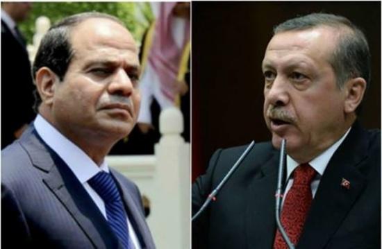 """رسالة بـ""""الحبر السري"""" من السيسي لأردوغان عبر العبادي"""
