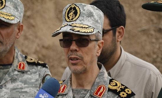 رئيس أركان إيران: استهداف إسرائيل لسوريا لن يبقى بلا رد