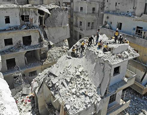 """مقتل سيدة في قصف للنظام على """"خفض التصعيد"""" بإدلب"""