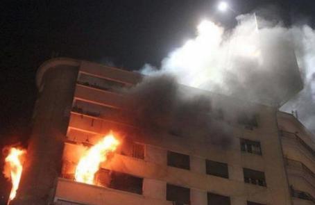 وفاة شخصان اثر حريق منزل في محافظة اربد