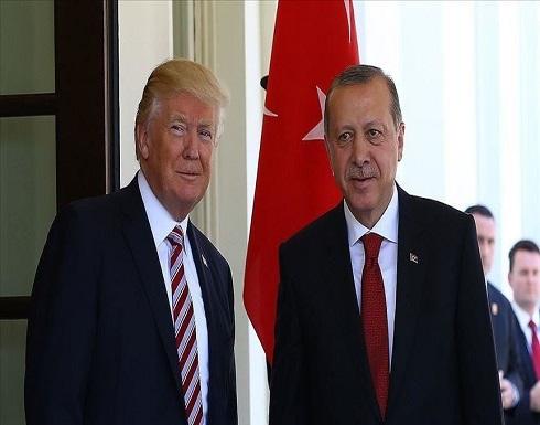 أردوغان وترامب يبحثان قضايا ثنائية والتطورات الإقليمية