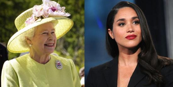 ميغان ماركل تنوب عن الملكة في هذه المُهمة.. وتستلهم إطلالتها من فتيات كارداشيان!