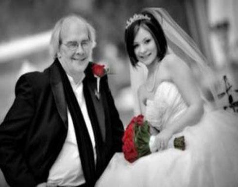ما الذي تبحث عنه الفتاة لتتزوج من رجل يكبرها بمراحل؟