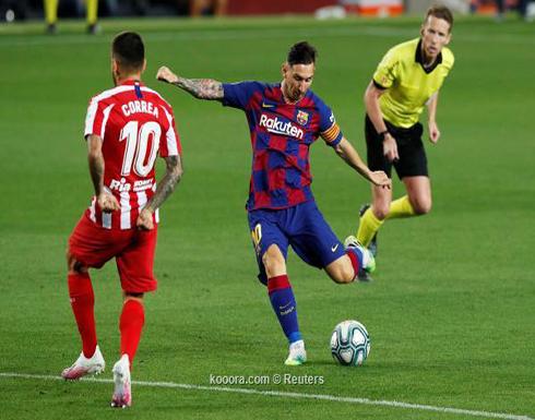 بالصور.. برشلونة يواصل النزيف بتعادل مُخيب أمام أتلتيكو مدريد