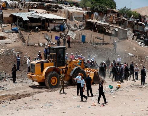 """مخيم فلسطيني جديد في """"الخان الأحمر"""" لمواجهة الاستيطان (صور)"""