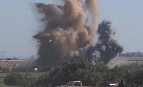 غارات روسية في إدلب تُسقط 10 مدنيين رغم وقف إطلاق النار