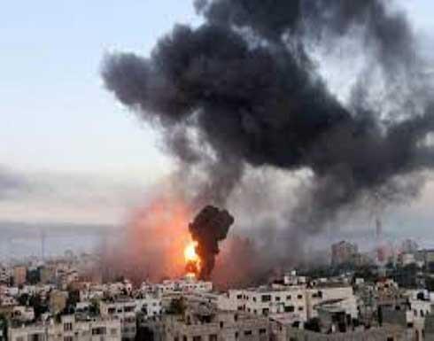 استشهاد مواطنين بقصف طائرات الاحتلال وسط غزة