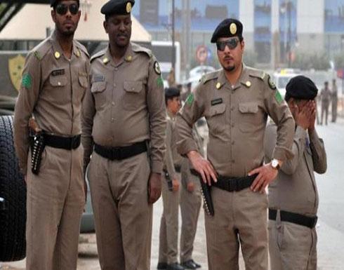 الشرطة السعودية تطارد فتاة - فيديو