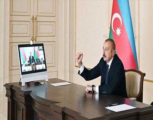 رئيس أذربيجان يعلن تحرير 7 قرى من أرمينيا