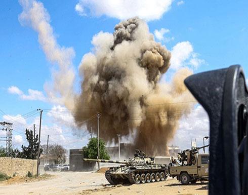 مقتل 7 مقاتلين لحفتر في غارة جوية جنوب طرابلس