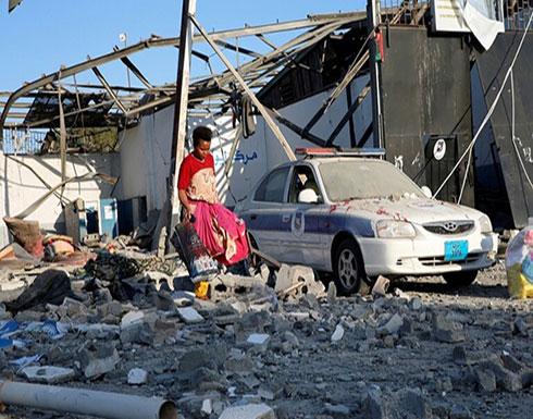 """""""الوفاق الليبية"""": 7 قتلى معظمهم أجانب جراء غارة جوية جنوبي طرابلس"""