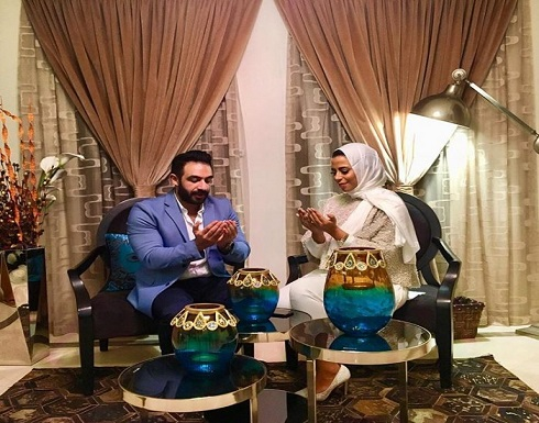 بالصور : ماجد المصري يحتفل بخطبة ابنته ماهيتاب