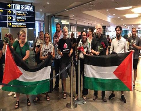 """ناشط سويدي: إسرائيل عاملتنا """"مثل الحيوانات"""" أثناء الاعتقال"""