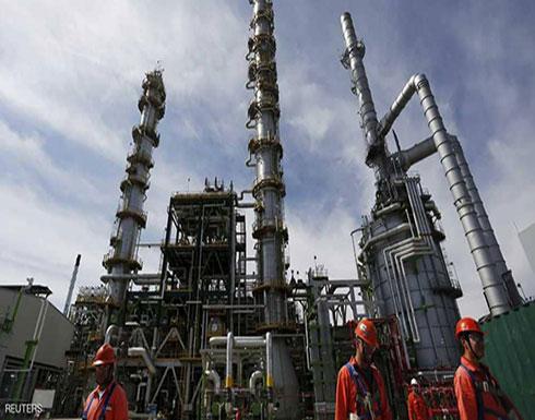 هبوط في أسعار النفط