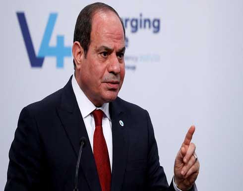 السيسي: مياه النيل يجب أن تكون دافعاً للتنمية وليس للصراع