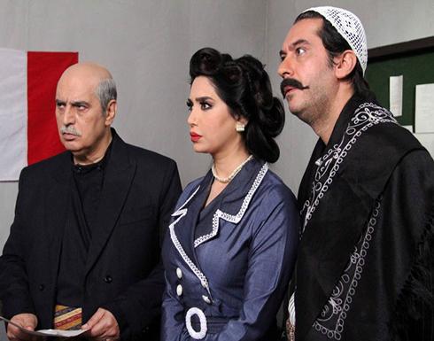 نجمة لبنانية تثير الجدل بظهورها صحبة عقيد باب الحارة في مهرجان الجونة (شاهد)