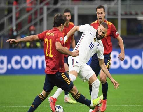 فرنسا تتوج بكأس دوري الأمم الأوروبية على حساب إسبانيا .. بالفيديو