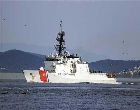 دخول السفينة الامريكية هاميلتون إلى البحر الأسود والجيش الروسي يتعقبها