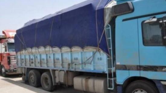 ضبط شاحنة محملة مواد منتهية الصلاحية بالرمثا