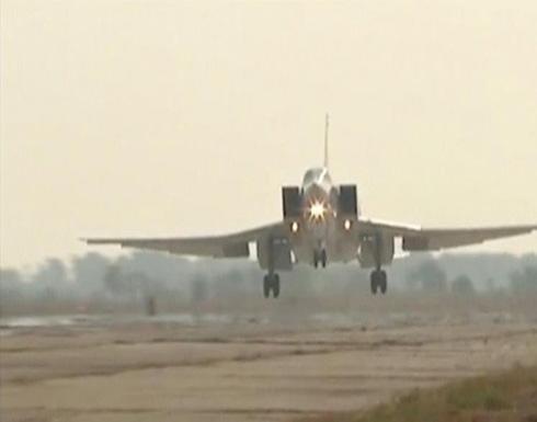 روسيا تواصل استخدام الأجواء الإيرانية لضرب سوريا