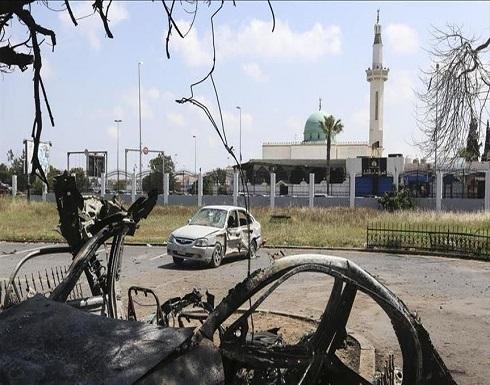 """بالفيديو : كاميرات مراقبة توثق استهداف مليشيات """"حفتر"""" للمدنيين"""