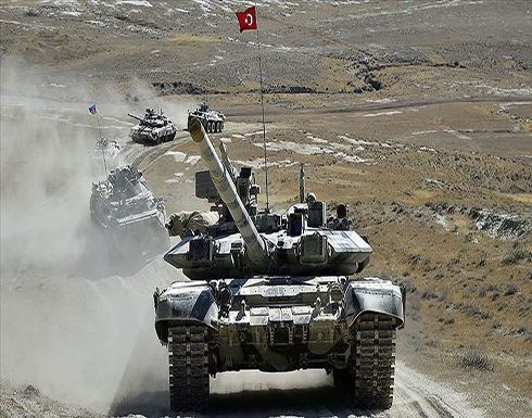 """شاهد : مناورات """"النسر التركي الأذربيجاني 2020"""""""