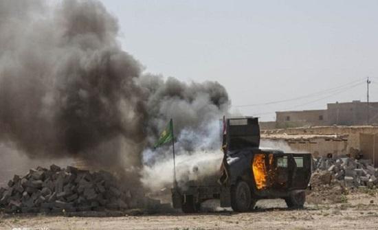 """درون """"مجهولة"""" تستهدف شحنة أسلحة لميليشيات إيرانية بسوريا"""